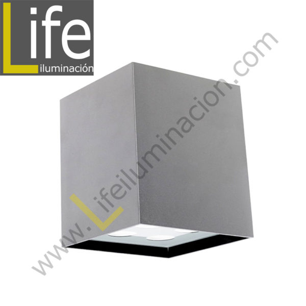 111/LED/6W/30K-WH/M APLIQUE EXTERIOR 6W LED 3000K IP54 COLOR BLANCO MU 1