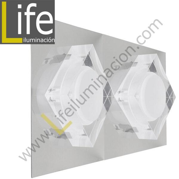 3000/LED/6W/30K/M APLIQUE PARED LED 6W 30K 29X12.5X6