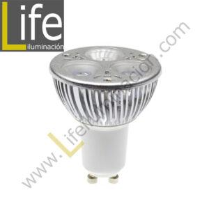 GU10/LED/5W/60K/220V LAMPARA LED GU10 5W 6000K 360LM 220V-60HZ