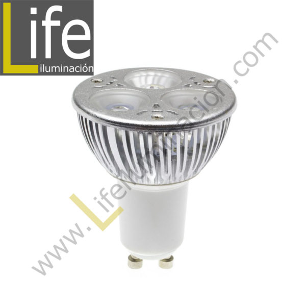 GU10/LED/5W/60K/220V LAMPARA LED GU10 5W 6000K 360LM 220V-60HZ 1