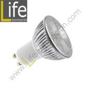 GU10/LED/6W/30K/220V LAMPARA LED GU10 6W 3000K 220V-60HZ