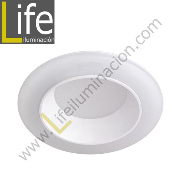 600/LED/12W/60K/WH DOWNLIGHT LED 12W 6000K 90° IP44 C/BLANCO 220V/60 1