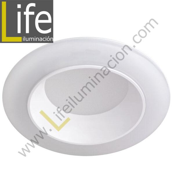600/LED/17W/40K/WH DOWNLIGHT LED 17W 4000K 90° IP44 C/BLANCO 220V/60 1