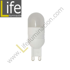 G9/LED/3W/27K/220V LAMPARA LED 3W G9 2700K 220V/60HZ