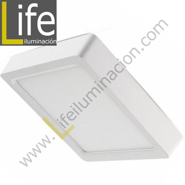 101C/LED/18W/60K/WH/M DOWNLIGHT LED CUAD