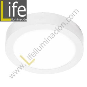 101R/LED/18W/30K/WH/M DOWNLIGHT LED CIRC. ADOSAR 18W/30K BLANCO MULTIVOL