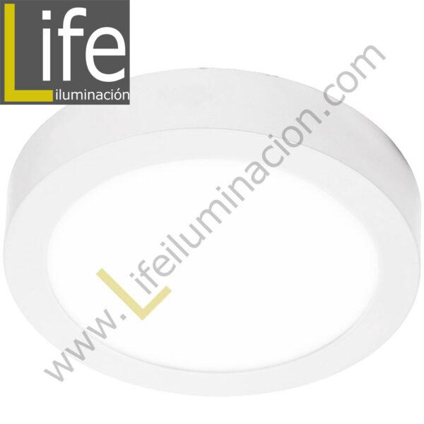 101R/LED/24W/30K/WH/M DOWNLIGHT LED CIRC