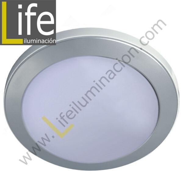 104RE/LED/6W/30K/WH/M SPOT LED RENDONDO EMP.6W/30K/SL 9