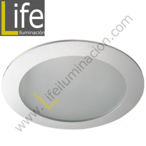 DOWN/LED/20W/40K/M DOWNLIGHT PANEL LED 20W 4000K SILVER MULTIVOLTAJE