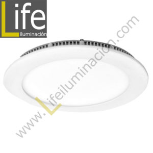 DOWN/RD/LED/12W/60K/WH DOWNLIGHT LED CIRC.EMP.12W/30K/WH 17.2X2CM MULTIVO