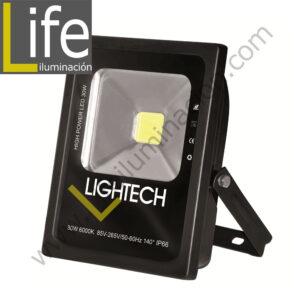 REF/30W/LED/60K/M REFLECTOR LED 30W IP65 85-265W 6000K - 2050LM 140º ANGULO DE RADIACION IP66 SIMETRICO
