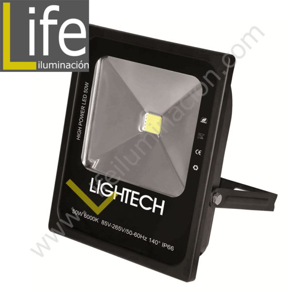 REF/50W/LED/60K/M REFLECTOR LED 50W IP65 85-265W 6000K – 2950LM 140º ANGULO DE RADIACION IP66 SIMETRICO 1