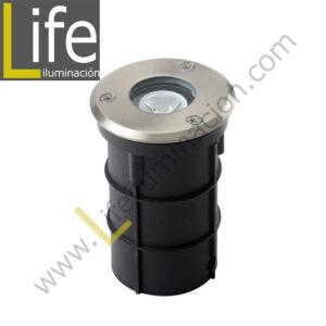 800/LED/7W/30K/M SPOT DE PISO LED 7W 3000K IP65 60° MULTIVOLTAJE