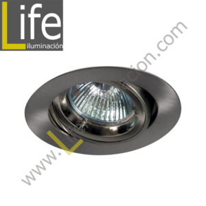 SPOT/LED/5W/SL/30K/M SPOT LED P/EMPOTRAR 5W/3000K D=8.7CM SILVER MULTI