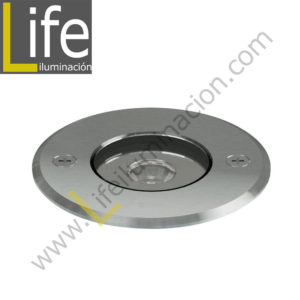 UC220/LED/15W/30K/M SPOT PISO LED COB 15W 30K CENTRAL FROST IP65 D=18CM H=12CM MULTIVOLTAJE